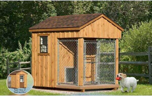 6x8_kennel for dogs